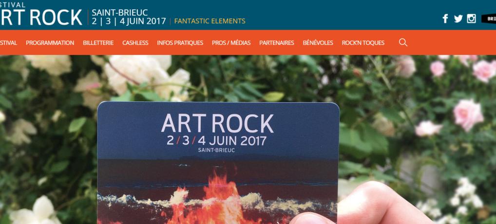 ART ROCK 2017: Saint-Brieuc Armor Agglomération assure votre retour du festival jusqu'à Plourhan!