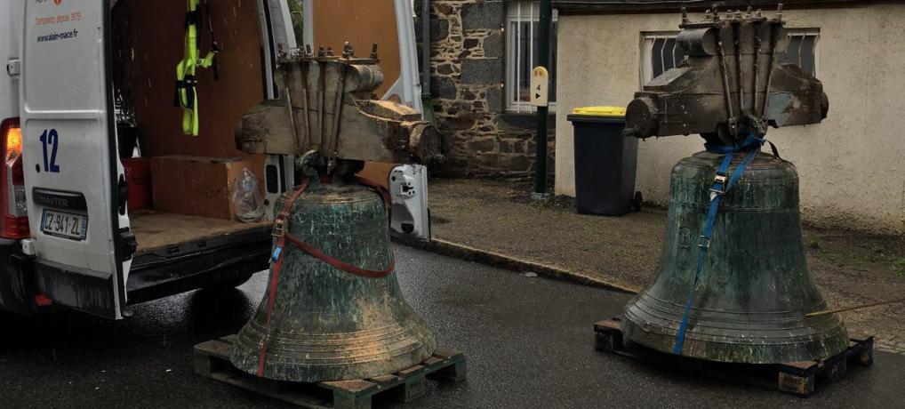 les cloches sont parties pour Villedieu-Les-Poêles !